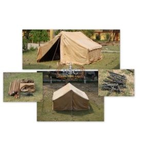 THE VINDOLANDA CONTUBERNIUM LEATHER TENT  Product Code: DSC-L101