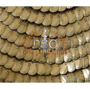 DSC-A115 PATTERN 'B' BRASS SQUAMATA