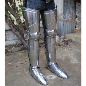 DSC-A127 COMPLETE SET OF LEG ARMOUR