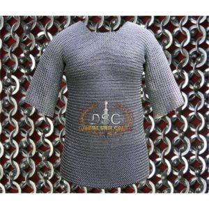 Haubergeon Chainmail Shirt (Zinc)
