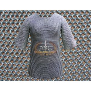 Haubergeon Chainmail Shirt (Zinc)