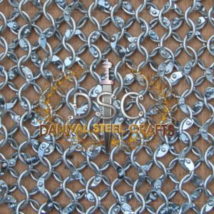Round Wire Round Riveted Chainmail