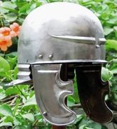 port type helmet (Port bei Nidau helmet) gallic